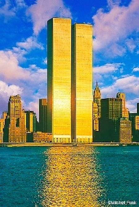 America World trade center gold