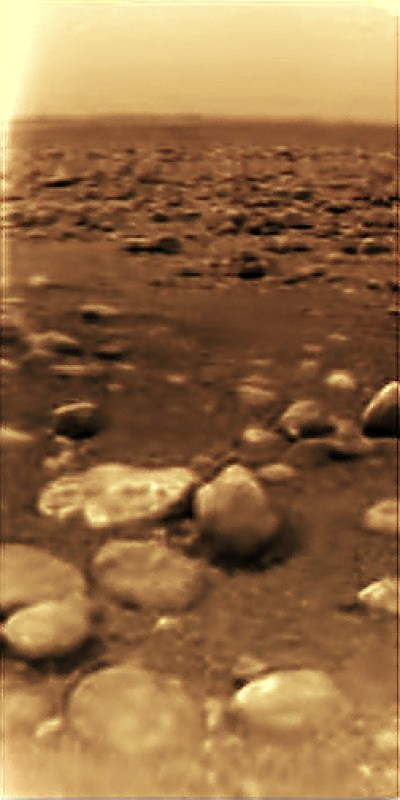 Titan surface photo Huygens_surface_color_sr