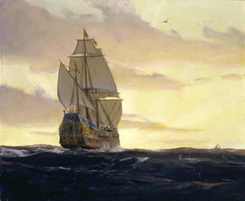 galleon boat depart