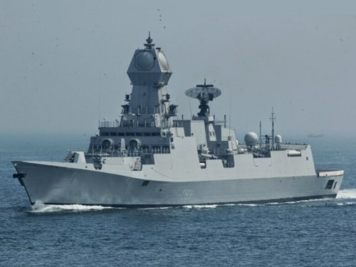 Chinese stealth destroyer