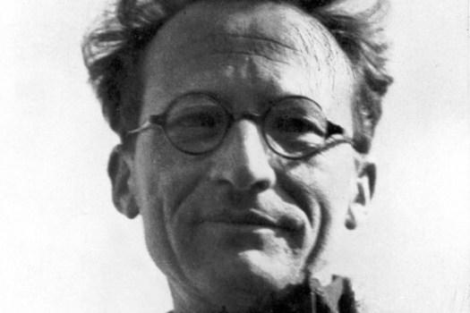 Erwin Schrodinger close up