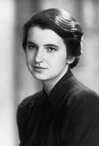 Rosalind Franklin, born 1920 died 1958 actual