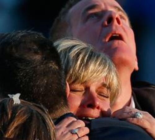 Sandy Hook parents grieve