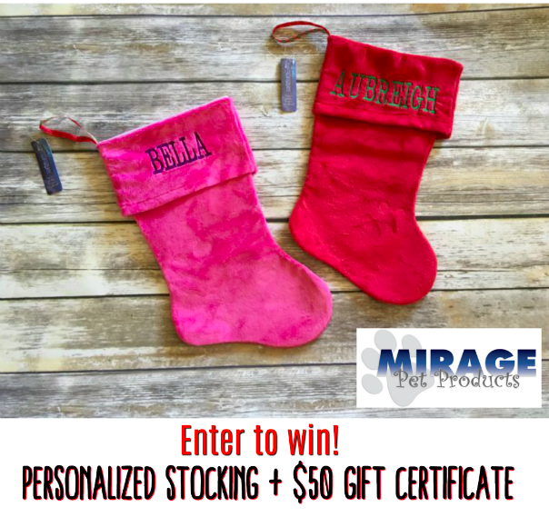 Win A Personalized Stocking + $50 Gift Card #Holiday2017