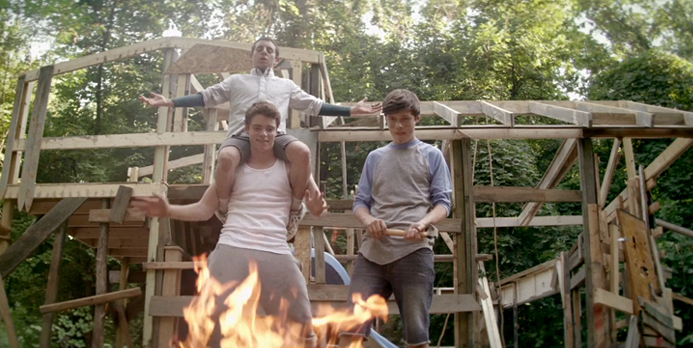 "The Binge Interview: Nick Robinson, Gabriel Basso & Moises Arias on ""The Kings of Summer"""