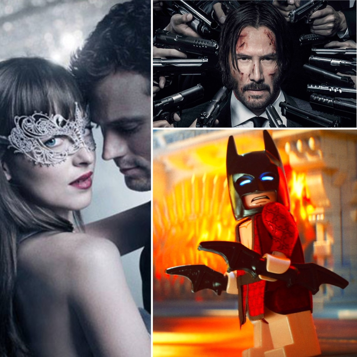 The Binge Movie Podcast: Fifty Shades Darker | John Wick: Chapter 2 | The LEGO Batman Movie