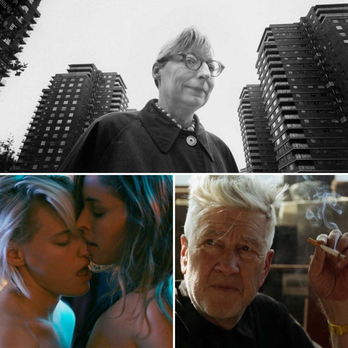 The Binge Movie Podcast: Below Her Mouth | Citizen Jane: Battle for the City | David Lynch: The Art Life (Guest: Andrew Hampp)