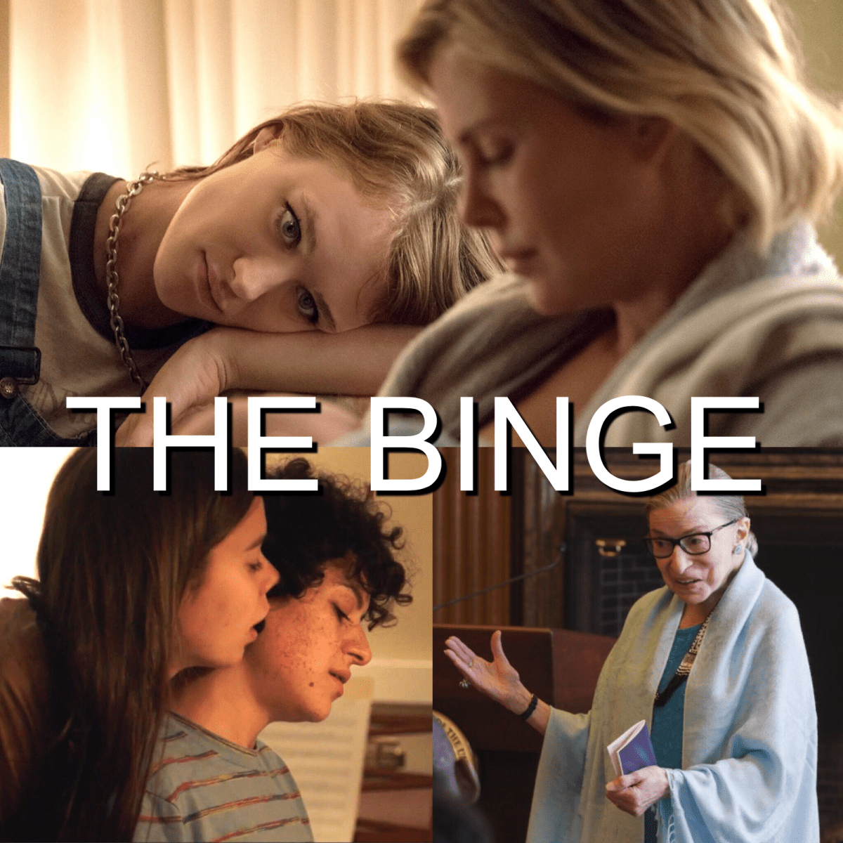 The Binge Movie Podcast: Tully | Duck Butter | RBG