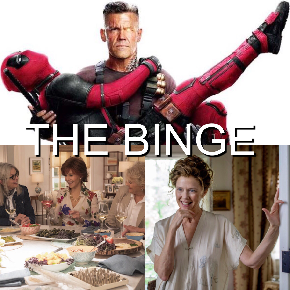The Binge Movie Podcast: Deadpool 2 | Book Club | The Seagull
