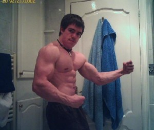 This is me a couple of years back when I was in a particularly 'hulking' phase of my training...