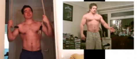 protein shake vs no protein shake