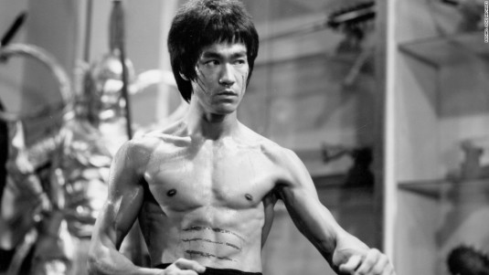 Bruce Lee Physique