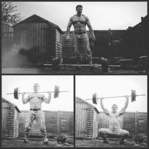 Compound lifts bone strength
