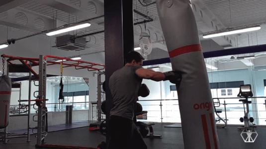 Batman fight training