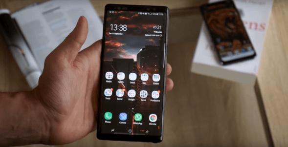 Galaxy Note 9 productivity