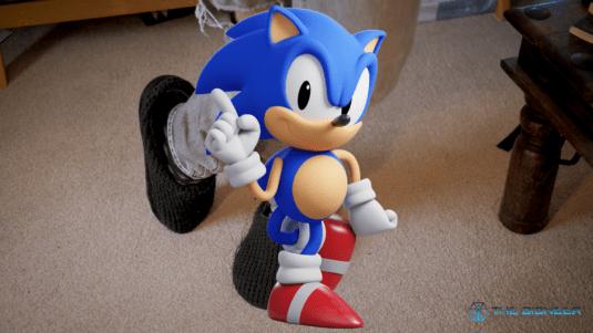 Sonic the hedgehog body language
