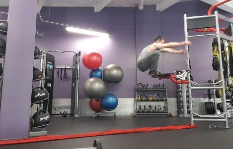 Increase vertical jump height at home