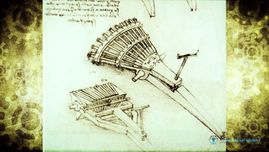 Leonardo Da Vinci Gun