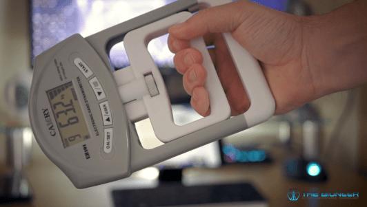 Grip strength dynamometer