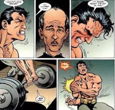 Batman injury