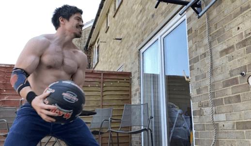 Medicine ball throw best ab exercises