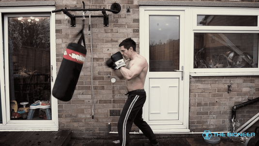 One Punch Man Heavy Bag Workout