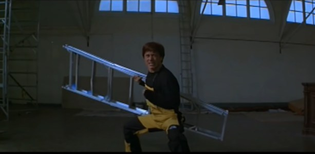 Jackie Chan Ladder Scene