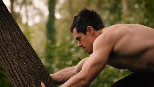 Tree climbing Tarzan