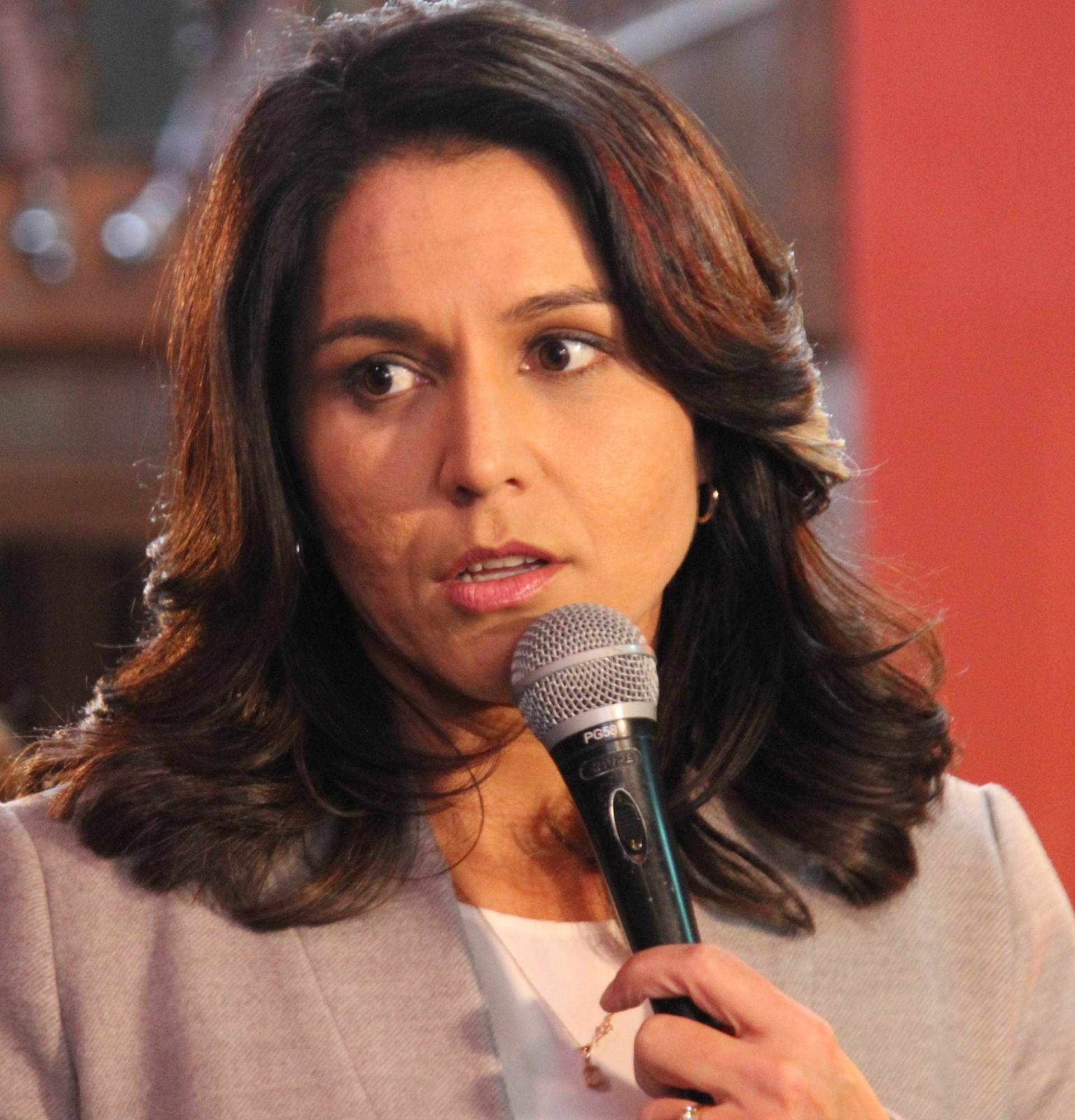 Tulsi Gabbard: We Are 'on the Brink of War with Iran'