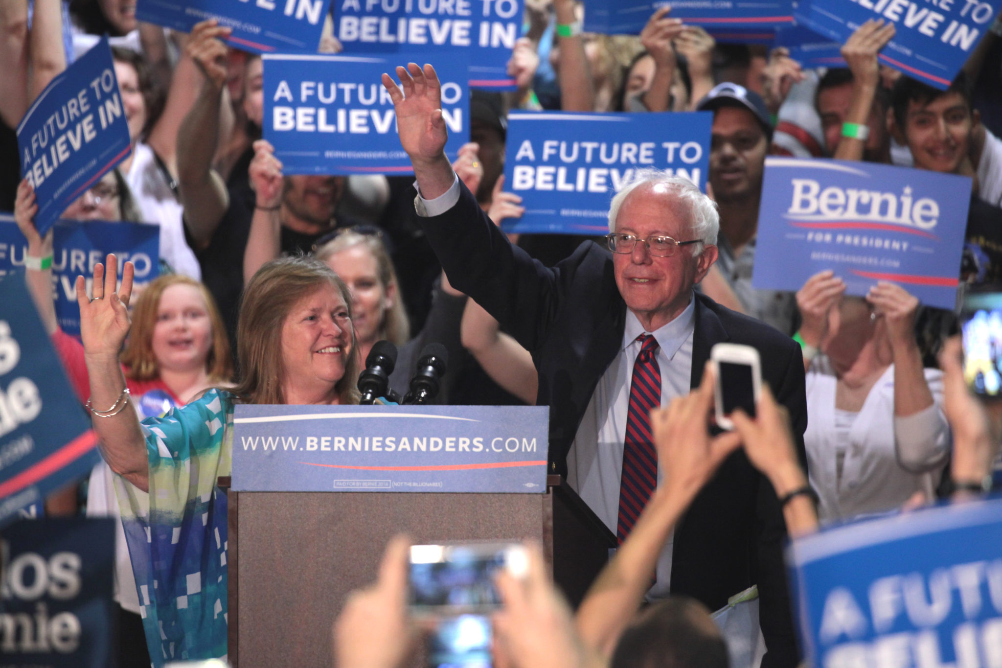 If Sanders Is Winning, He Needs To Unify His Party
