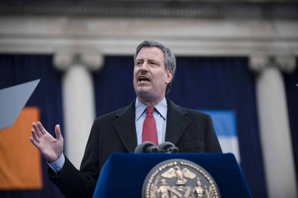 De Blasio Compares Coronavirus Outbreak to War: Divert Military to COVID-19