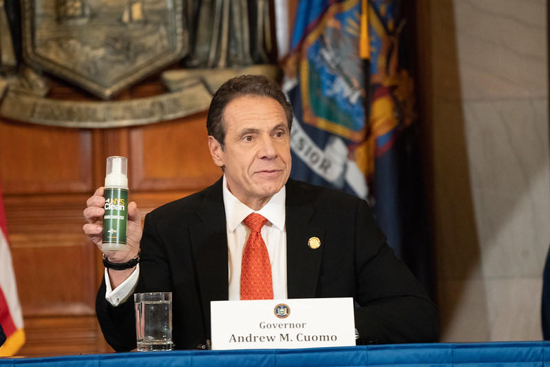 Cuomo: I Am Signing an Exec. Order to Seize Ventilators and PPE