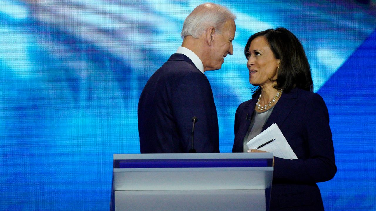 BIDEN PICKS RUNNING MATE: IT'S KAMALA HARRIS