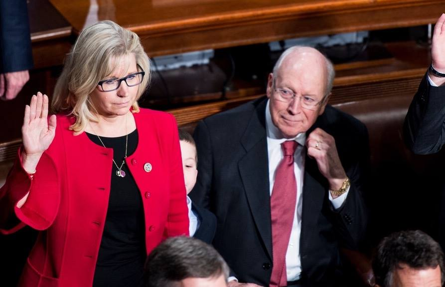 As Republicans Dump On Liz Cheney, Some See Republican Party Is Headed to Self-Destruction