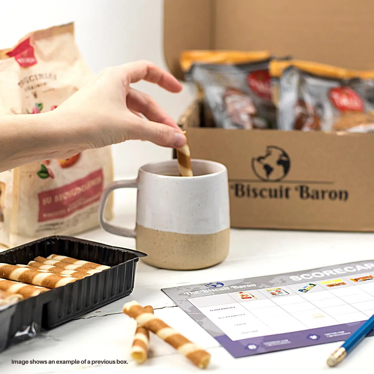 unique gift The Biscuit Baron Subscription Box Biscuits Box