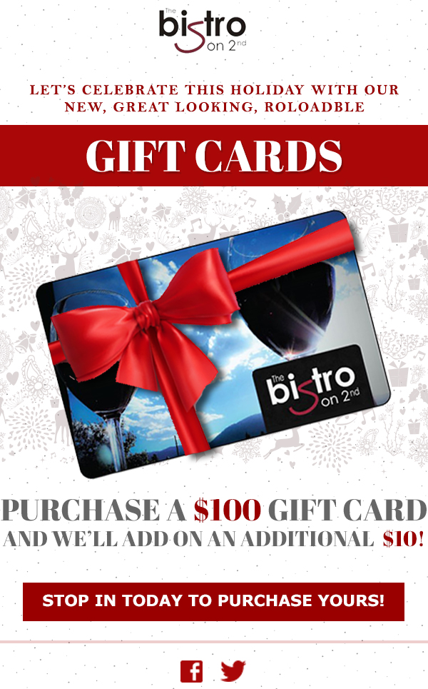 Bistro Gift Cards