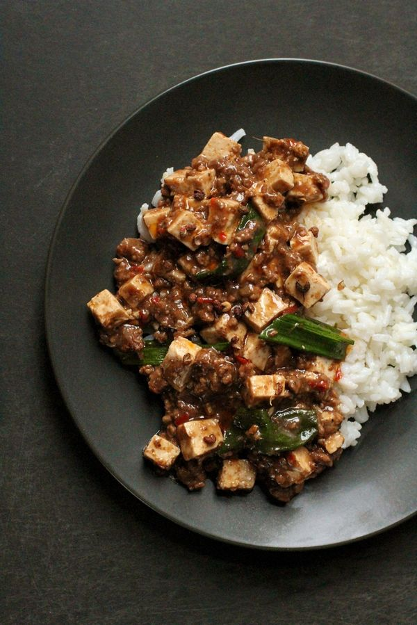 The Bitten Word Spicy Tofu With Beef And Szechuan Peppercorns