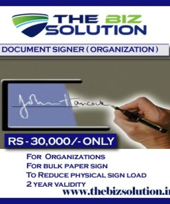 Document Signer Certificate Class 2 Digital Signature Organization price