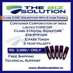 Container Corporation of India Limited Digital Signature with Encryption
