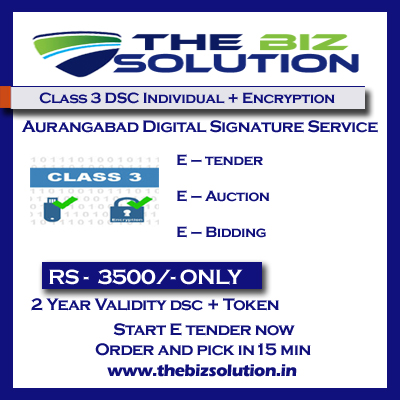 Class 3 dsc individual with encryption digital sign low cost aurangabad