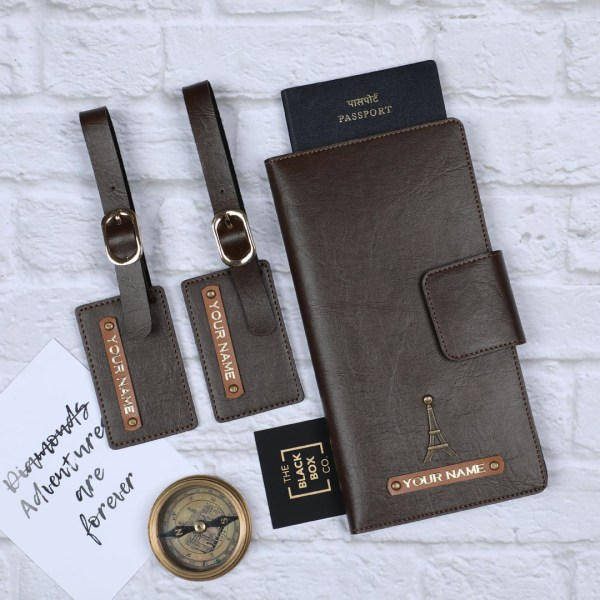 Personalised Travel Wallet & Luggage Tags