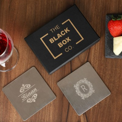 Custom Metal Coasters