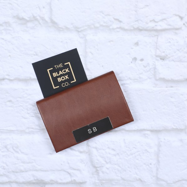 Personalised Card Holder for workaholic