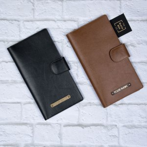Personalised Cheque Book Cover