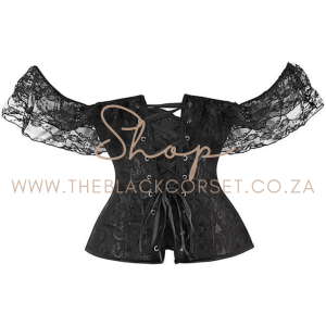 Lacy Shoulder Corset Top Imported Curated Fashion in South Africa