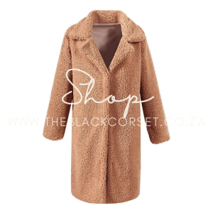 Long Plush Overcoat - High Quality Clothes for Sales Online in South Africa