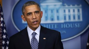 President Obama Makes Statement On Grand Jury Decision On Ferguson Shooting