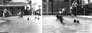 Motel manager pouring acid in the water when black people swam in his pool, 1964 2