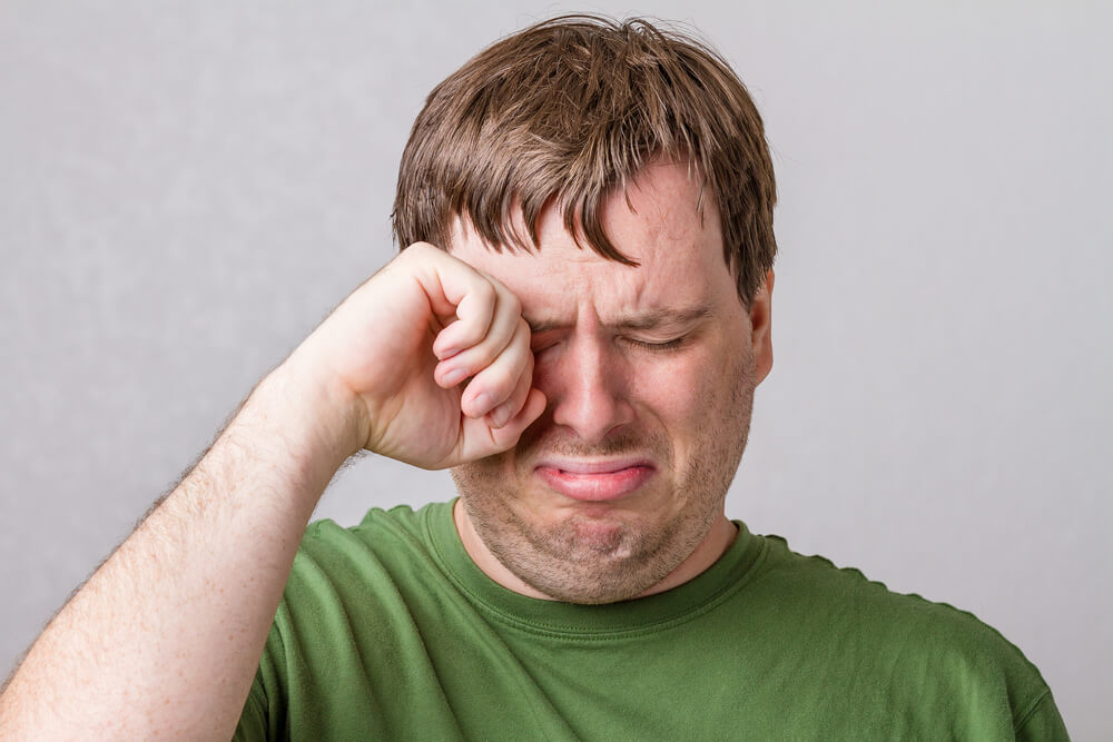 Free images of black man crying