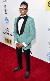 YAZZ THE GREAT NAACP IMAGE AWARDS 2016 RED CARPET